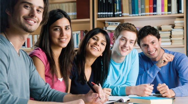estudiantes idioma