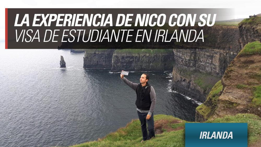 experiencia nico visa estudiante irlanda