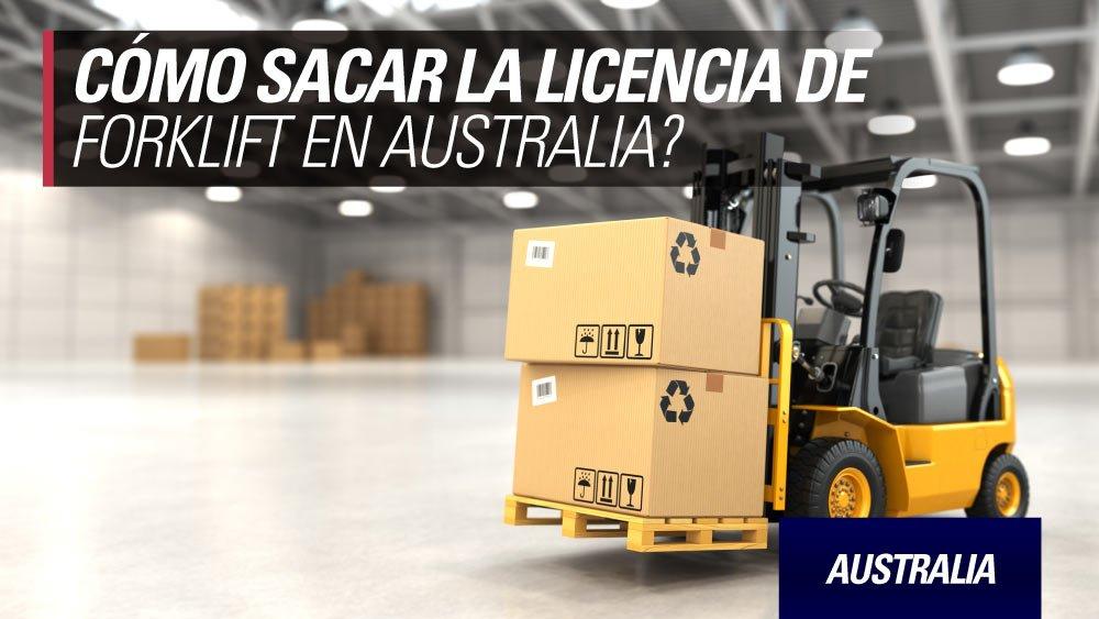 forklift licencia australia
