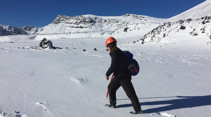 jess caminata nieve