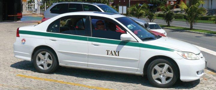 taxi cancun