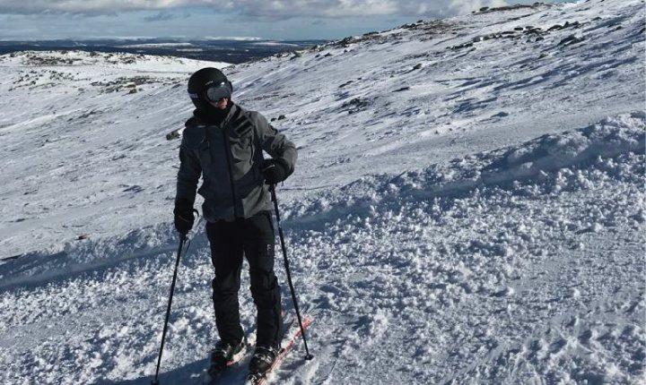 fede esquiando suecia