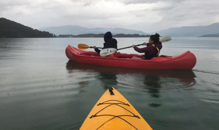 kayak en fiordos