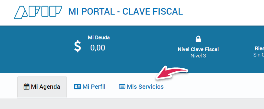 portal clave fiscal