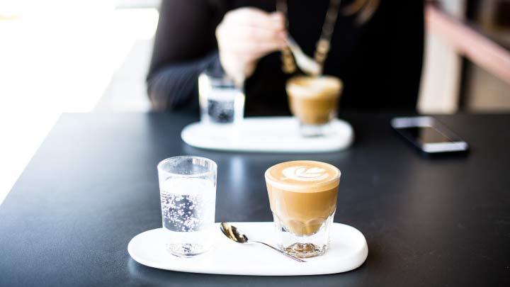 salida tomar cafe