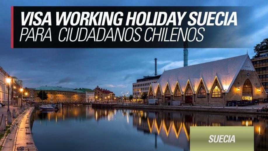 working holiday suecia para chilenos
