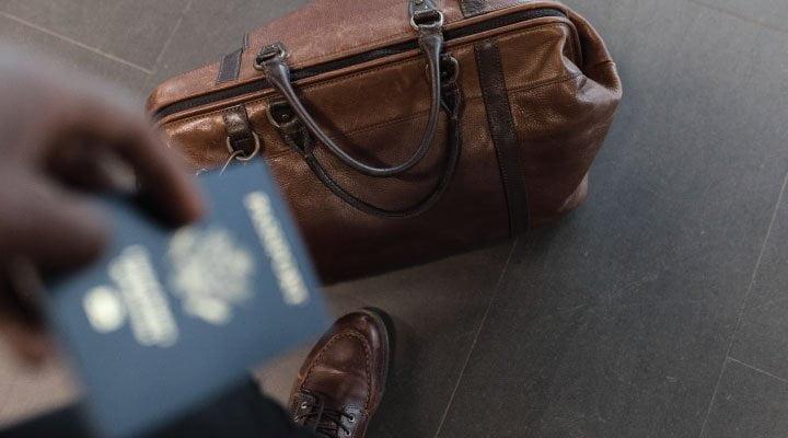 bolso viajes visa