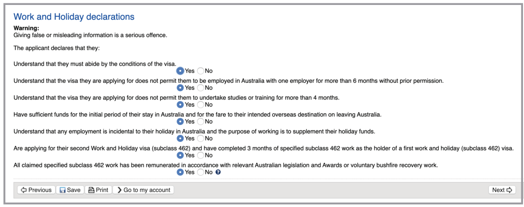 extension australia