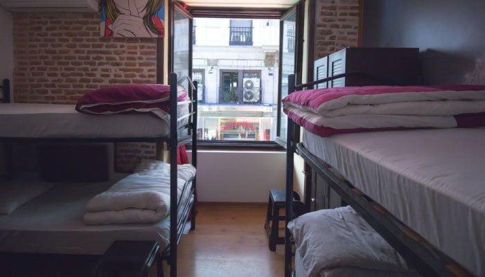 mejores hostels i love madrid