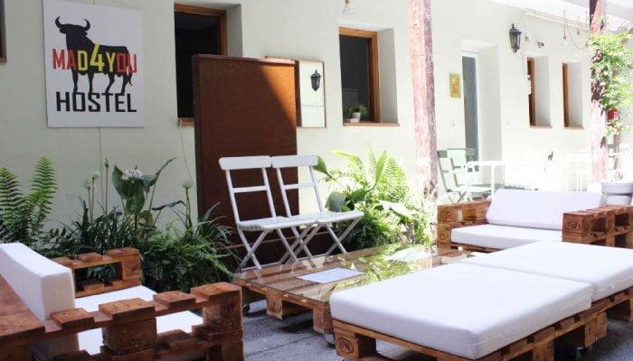mejores hostels madyou madrid