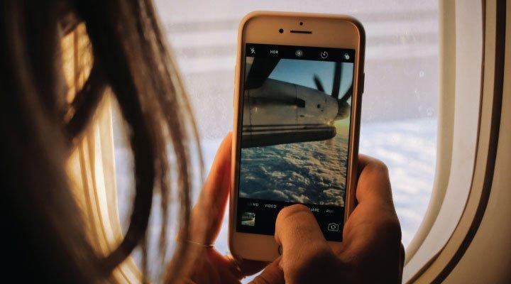 aplicacioones foto avion