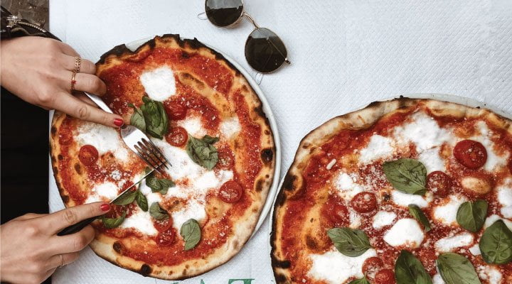 comidas pizza