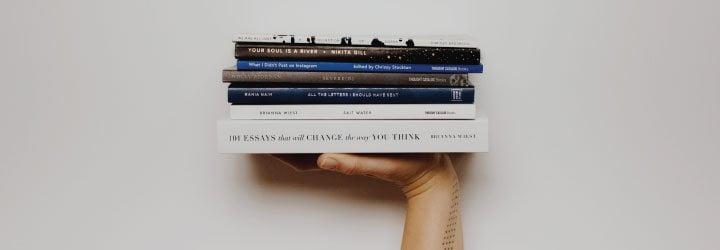 libros valija de mano
