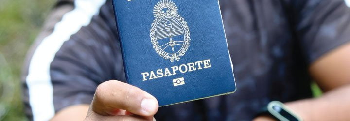 pasaporte documentacion
