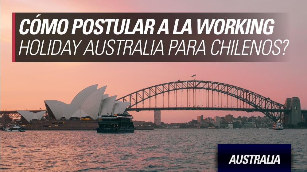 postular work and holiday Australia