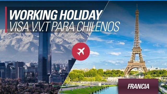 Working holiday francia para chilenos