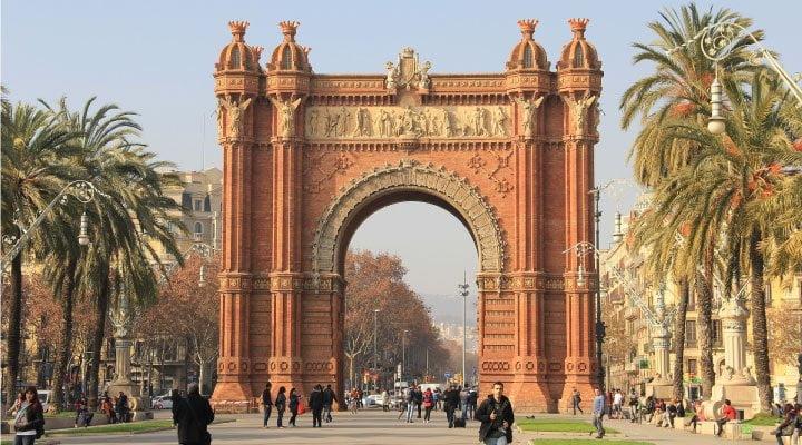 arco triunfo barcelona