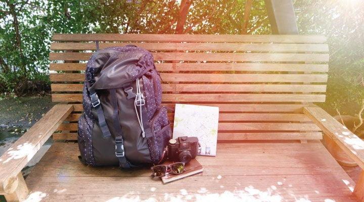 mochila viajero