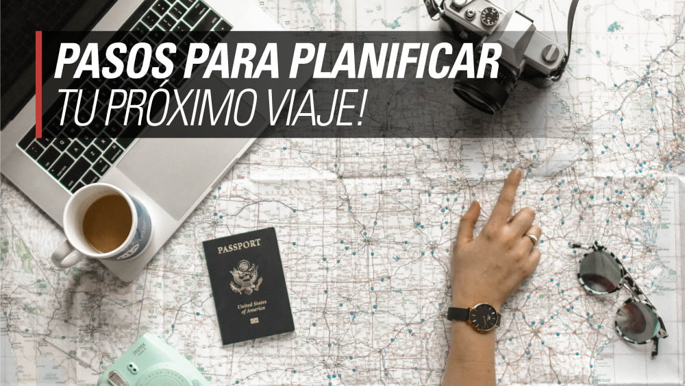 pasos planificar viaje