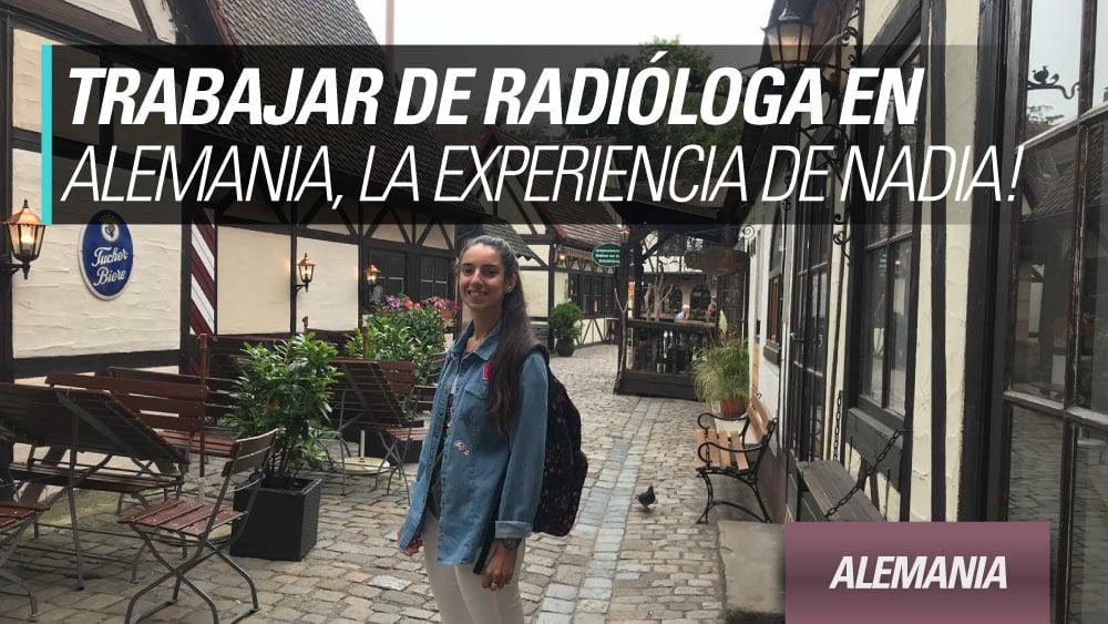 trabajar de radiologa alemania nadia