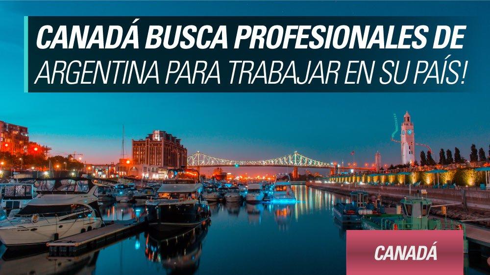 canada profesionales argentinos