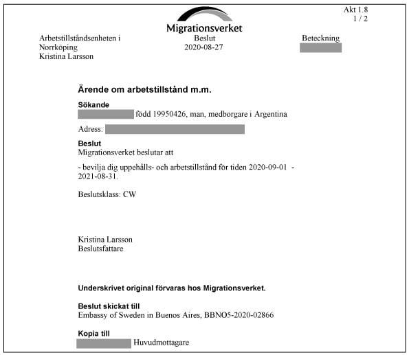 pdf aprobacion visa sue