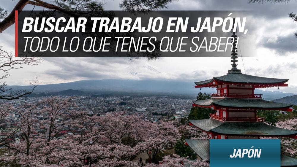 buscar trabajo japon