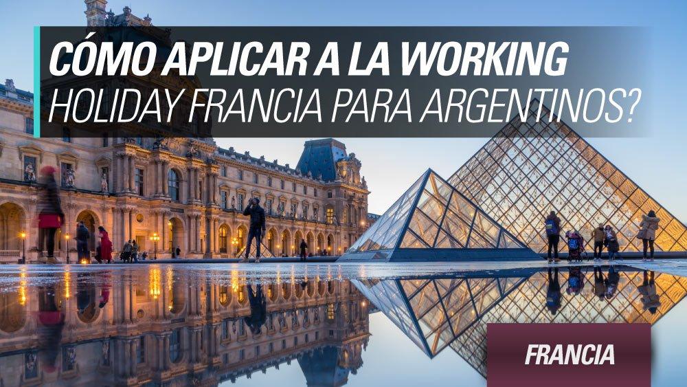 aplicar working holiday francia