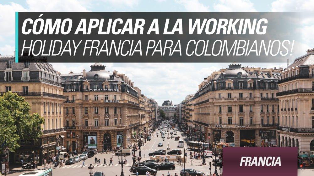 como aplicar francia para colombianos