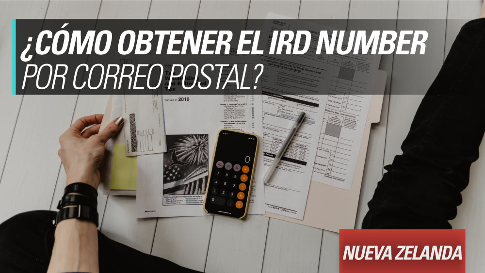 obtener el ird por correo postal