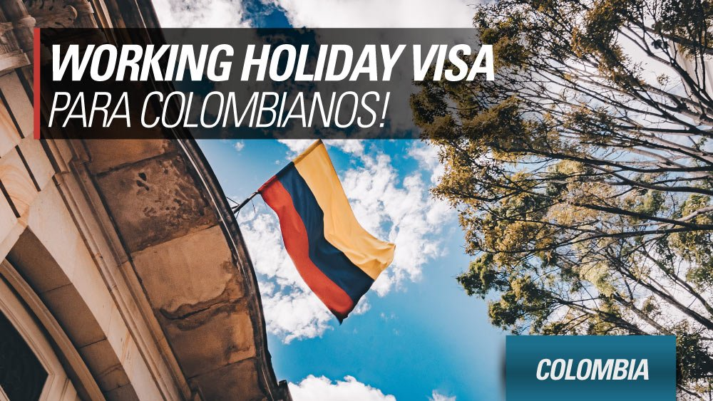 working holiday visa colombia